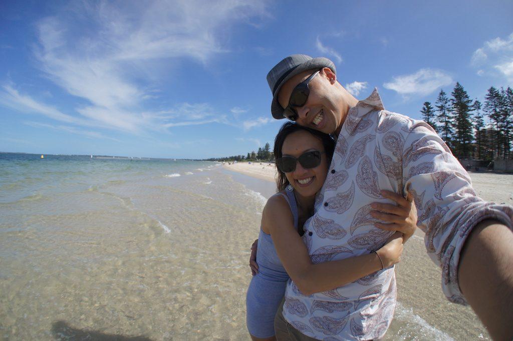 Anf & Cindy beach